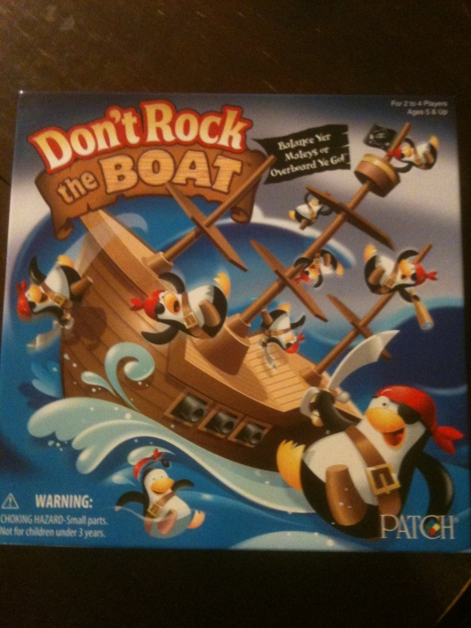 "Patch Products' ""Don't Rock the Boat"" by Patch Products is nominated for a ""Toy of the Year"" in the Games category for 2012."