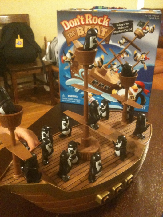 "Thanks to Patch Products for giving me the opportunity to review their highly acclaimed board game ""Don't Rock the Boat."""