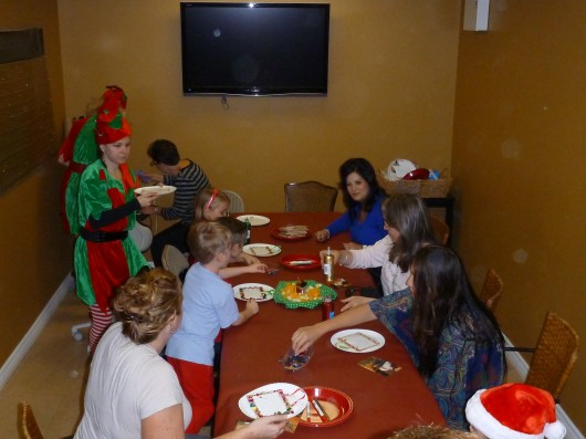 Clients of Emigh Dental Care got their craft on at the office's annual holiday visit with Santa Claus.
