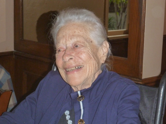 Happy 94th Birthday, Great-Grandma Hazel!