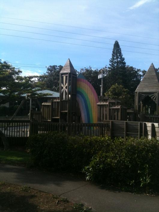 Anuenue Playground in Waimea, HI (Big Island).