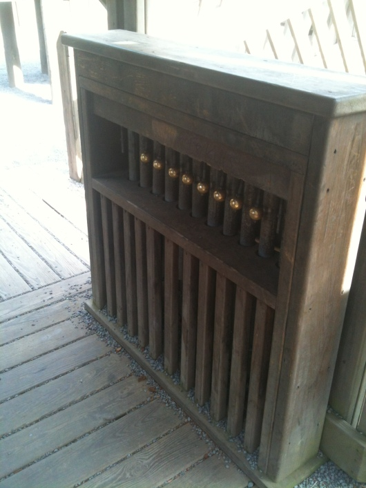 A xylophone at Anuenue Playground.