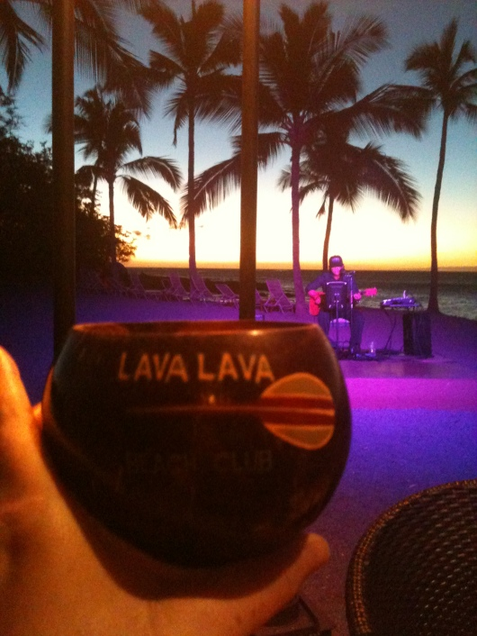 Cheers from the Lava Lava Beach Club!