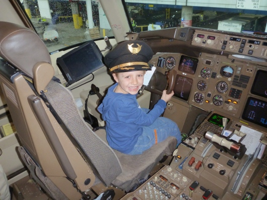 Captain T at your service!