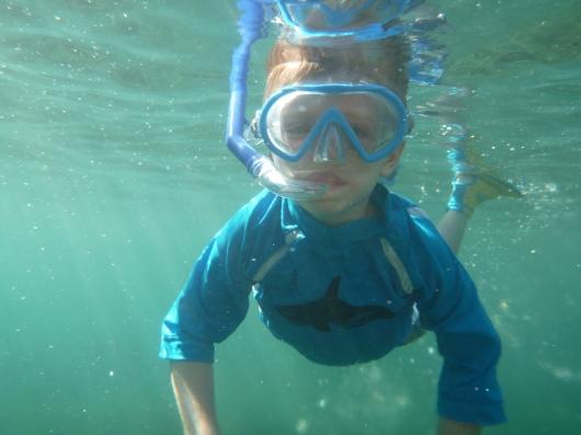 Underwater T!