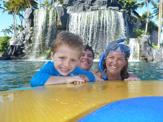 A family who snorkels together makes some fantastic vacation memories together!