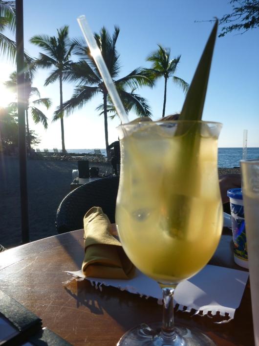 A Gilligan's Girl cocktail at Lava Lava Beach Club.