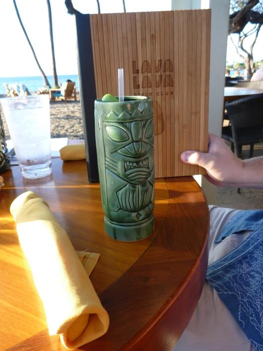 Tijuana Tiki cocktail at Lava Lava Beach Club.