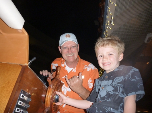 Another fun trip thanks to Andrew, a long-time staff member at the Hilton Waikoloa Village Resort.