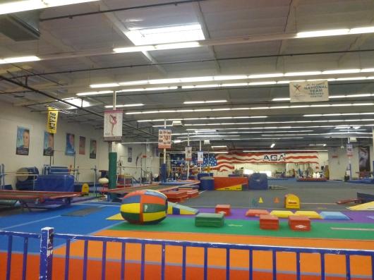 The American Gymnastics Academy (AGA) in Signal Hill (CA).