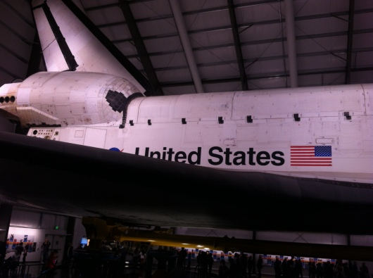 Space Shuttle Endeavour at the California ScienCenter.