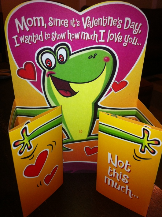 My Valentine from T. Aw!