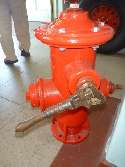 I now know why more fire hydrants aren't opened up on hot days. It takes a special pentagon-shaped wrench to get around the specially shaped nuts that keep them closed until necessary. You really do learn something new every day!
