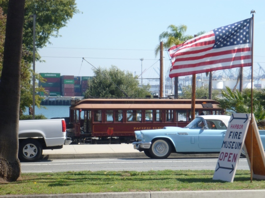 Roll on over to the LAFD Harbor Museum in San Pedro (CA). It's located right on the old Red Car line, 6th Street stop.