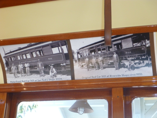 A then-and-now look at the Red Car trolleys.