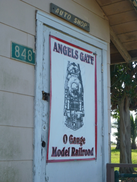 AGHR's signage on the outside of their clubhouse on the old Fort MacArthur site in San Pedro, CA.
