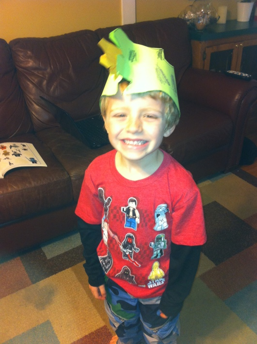 Happy Chinese Year Year from a dragon-hatted T!