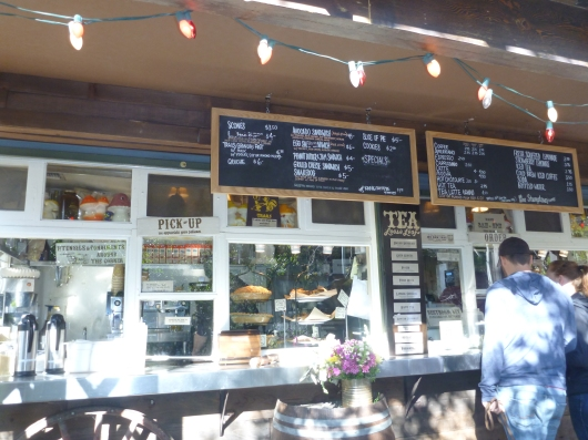 The Trails Cafe is a self-service, walk-up style eatery in Griffith Park.
