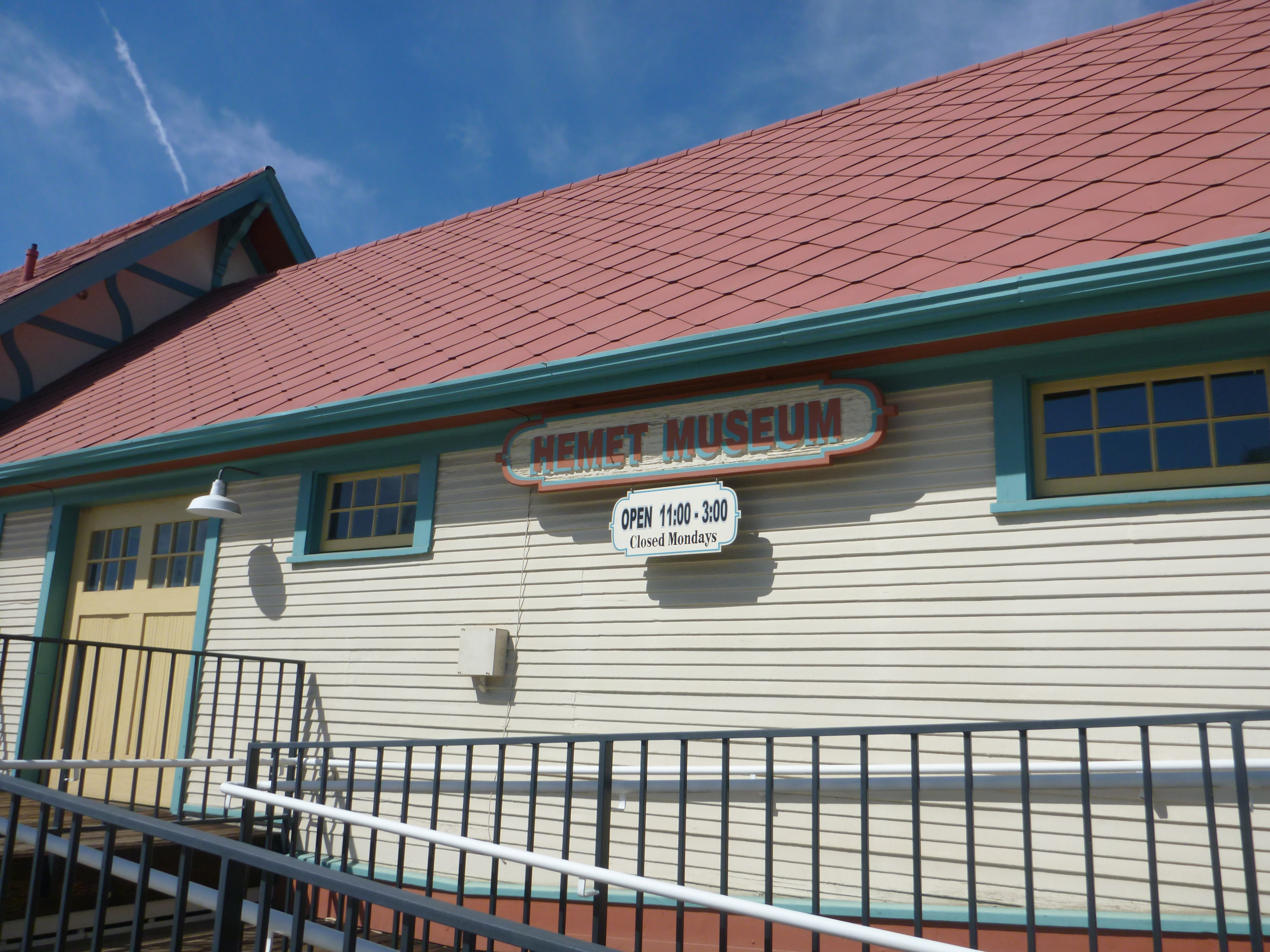 Hemets History Housed in Historic Train Depot