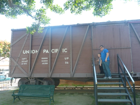 The retired stock at the Lomita Railroad Museum is what this place is all about, especially for the kids (but parents dig it, too).