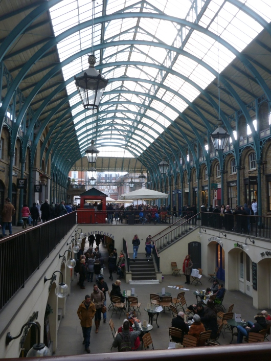 The covered market in the Covent Garden Piazza calls to foodies and fashionistas alike.
