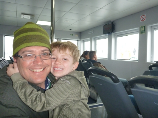 C and T on the Wightlink.