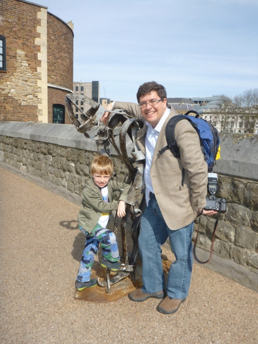 T and C at the Tower of London.