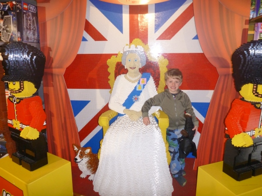 I am thrilled T got to have his photo taken with Queen Elizabeth II!