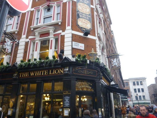 Ah, White Lion, we were sad you kicked us out, but we completely understand. It's the law.