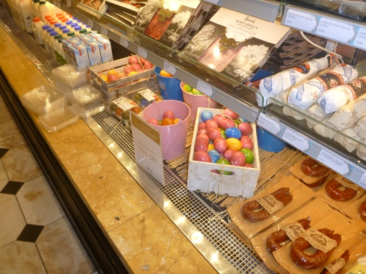 There's a grocery store part to the food halls of Harrods, too. Yummy!