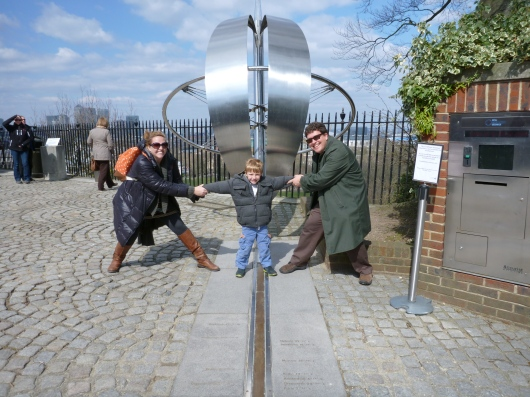 It's the family of RMT on the Prime Meridian, home of GMT and where time began!