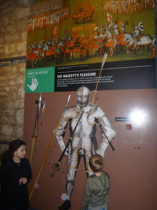 One of the many games and activities inside of White Tower.