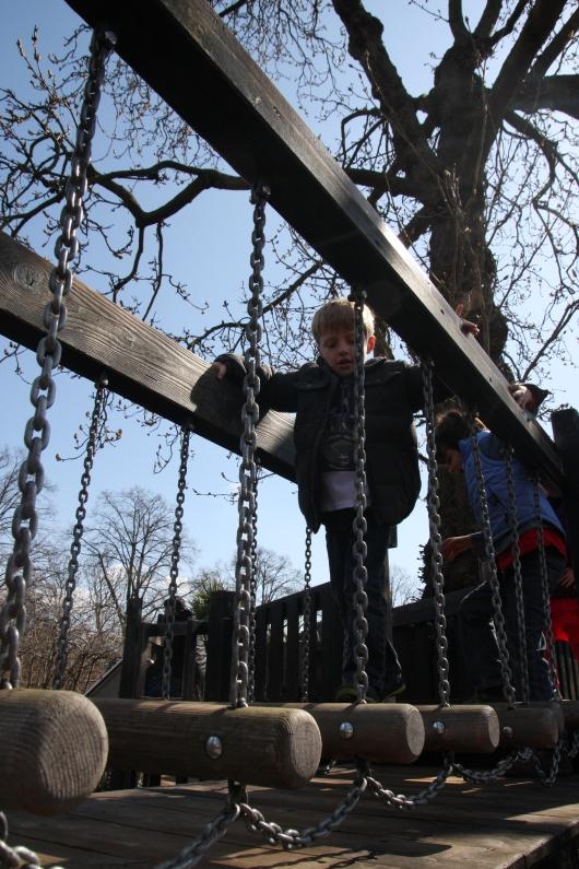 More fun at the Diana Memorial Playground.