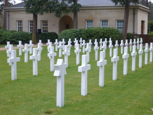 Brookwood American Cemetery near London.