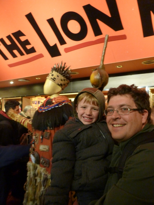We had a lot of fun seeing The Lion King in London's Lyceum Theatre.