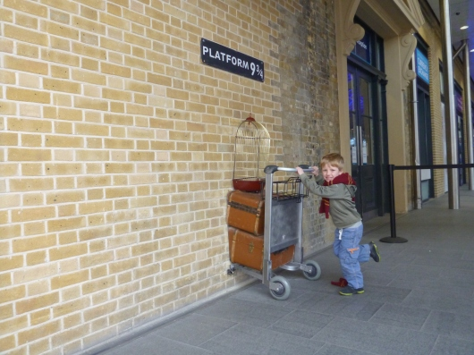 T's on his way to Platform 9-3/4!