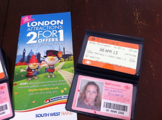 To qualify for the 2-for-1 offers from DayGuidesOutUK, you must have a valid National Railcard photo ID (you must have the photo to-size with you at time of purchase, see website for photo measurements and guidelines) along with a current, non-expired National Rail ticket. If you fail to print vouchers online before your travels, these London 2-for-1 booklets are available at any National Rail counter and contain the same current offers as their website.