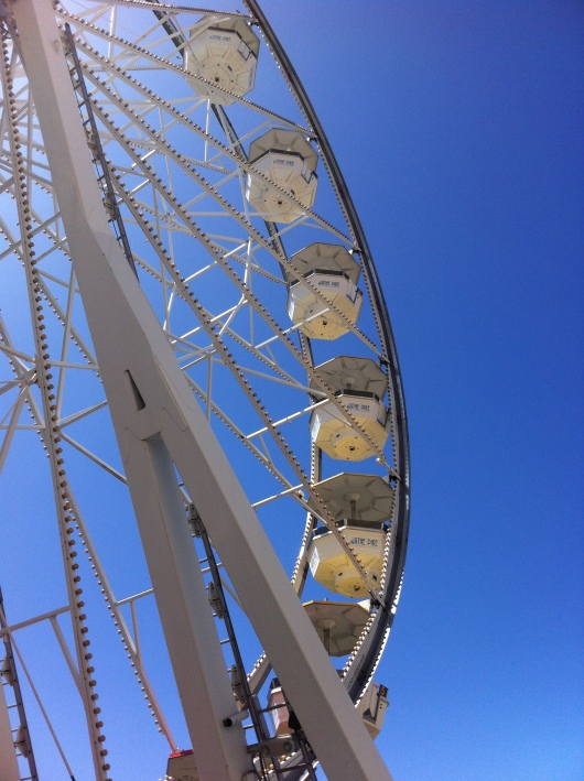 The Ferris wheel at The Pike at Rainbow Harbor in Long Beach (CA).