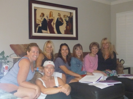 Just a small group of us who attended Kathy Salazar's Practical Parent Talk class. Thanks again to Coastal Cuties of Long Beach (CA) for offering the chance to take this amazing course!