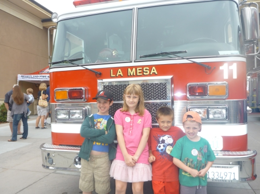 More fire truck fun!