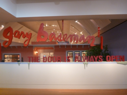 Gary Baseman: The Door Is Always Open is on exhibit at the Skirball Cultural Center now through August 18, 2013.