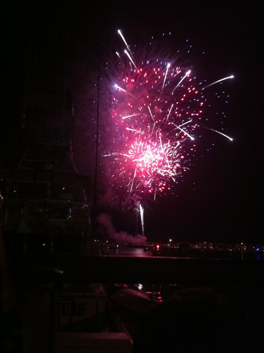 Happy 3rd of July! Thanks for another great fireworks show, McKenna's!
