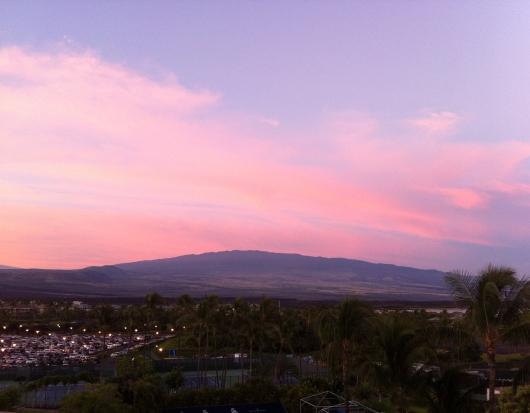 Good morning from the Hilton Waikoloa Village!