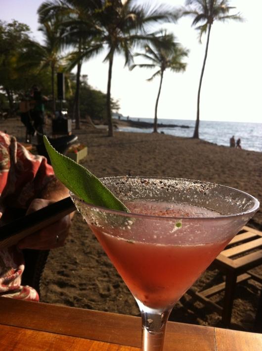 Sandy Toes cocktail at Lava Lava Beach Club.