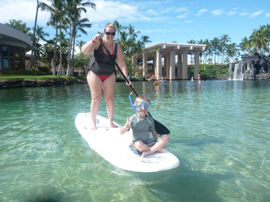 I got back on the SUP (stand-up paddleboard) this trip! I missed out last time as the lagoon was SO crowded. Of course, I am back to wanting one of these badly.