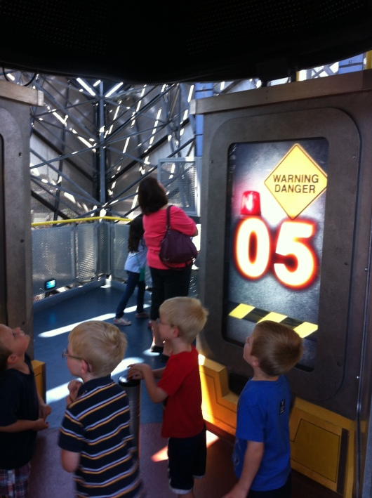 The Boeing Rocket Lab is always a hit with kids at the Discovery Science Center.