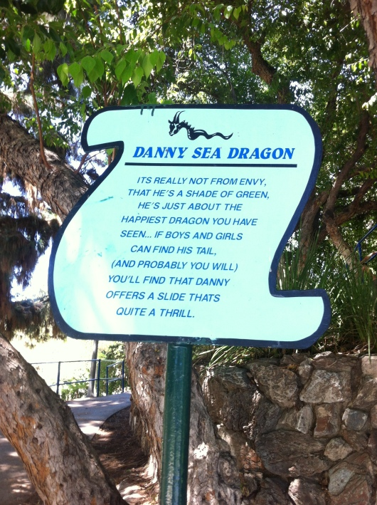 The story of Danny the Sea Dragon at Atlantis Play Center.