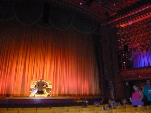 Organist Rob Richards played upbeat Disney tunes for the crowd before the movie Planes last Sunday at the El Capitan Theatre, just as he does and has daily for years.