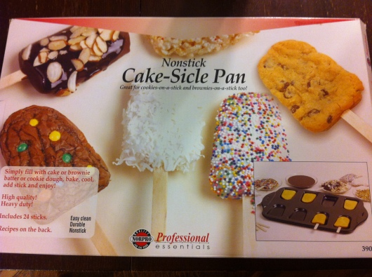 Cakesicle Pan by Norpro.
