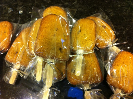 """I have 3x4"""" Wilton treat bags that I've used to package my basic cookies-on-a-stick. They worked with the cakesicles wonderfully also."""